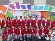 Delegación vietnamita está lista para ASIAD 2018 en Indonesia