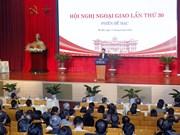 Concluye la trigésima Conferencia de Diplomacia de Vietnam