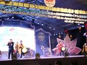 Actividades culturales promueven cooperación Vietnam- Japón