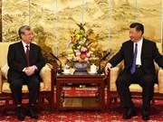 Dirigente partidista de Vietnam se reúne con Xi Jinping