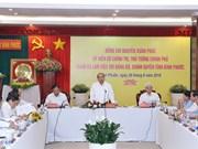 Premier de Vietnam insta a provincia de Binh Phuoc a desarrollar sector privado