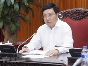 Vicepremier vietnamita urge a aclerar preparativos para Foro Económico Mundial sobre la ASEAN