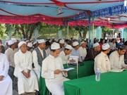 Dirigente vietnamita felicita a comunidad islámica por fiesta Eid al Adha