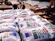 Exportación de fertilizantes de Vietnam logra tendencia alcista