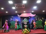 Espectáculos de marionetas de Vietnam transmiten valores culturales a connacionales en Rusia