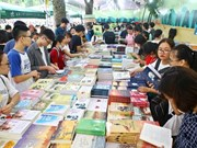Inauguran feria de libros de otoño en Hanoi