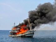 Indonesia hunde más de un centenar de pesqueros foráneos por pesca ilegal