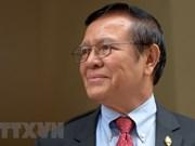 Exlíder de disuelto partido opositor de Camboya seguirá tras las rejas