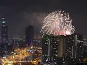 Fuegos artificiales iluminarán cielo de Ciudad Ho Chi Minh en la noche de Independencia