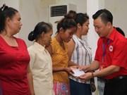 Hanoi brinda asistencia humanitaria a pobladores de Vientiane