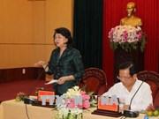 Vicepresidenta de Vietnam insta a desarrollar el turismo en provincia central