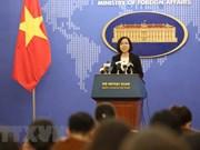 Vietnam exige fin de ejercicios militares en isla Ba Binh en archipiélago Truong Sa