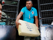 Tailandia incauta carga de metanfetamina por valor de 45 millones de dólares