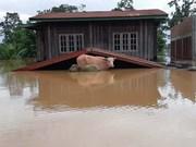 Lluvias e inundaciones causan graves consecuencias en Laos