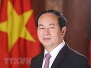 Presidente de Vietnam viaja a Etiopia para una visita estatal