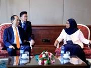 Presidente de Vietnam propone aumentar cooperación parlamentaria con Etiopía
