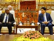 Impulsan cooperación entre Mozambique y Vietnam