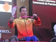 Empresa surcoreana de cosmética patrocinará  delegación vietnamita en Juegos Paralímpicos de Asia