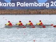 Equipo de remo gana otra medalla a Vietnam en Juegos Asiáticos