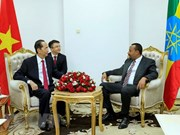 Vietnam y Etiopía acuerdan fomentar intercambio de contactos en todos los canales