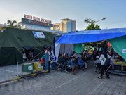 Se eleva a 555 los fallecidos por sismos consecutivos en Indonesia