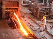 Exportación de productos siderúrgicos de Vietnam alcanza 2,53 mil millones de dólares