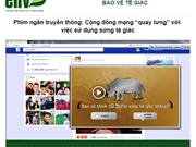 Vietnam estrena cortometraje sobre protección de rinoceronte