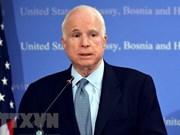 Embajada estadounidense en Vietnam abrirá mañana libro de condolencias por el senador John McCain