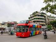 Recorrido por Hanoi en autobús de dos pisos y a precios razonables atrae a viajeros