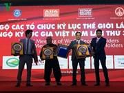 Vietnam obtiene cuatro nuevos récords mundiales