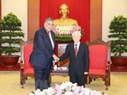 Vietnam y República Dominicana fortalecen nexos partidistas