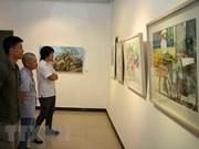 Intercambio cultural y exposición estrechan lazos entre artistas vietnamitas y extranjeros