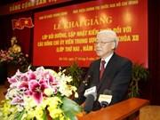 Partido Comunista de Vietnam perfecciona capacidad de militantes
