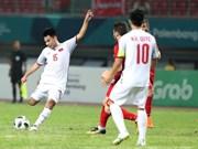 Vietnam clasifica por primera vez en semifinal de fútbol en Juegos Asiáticos