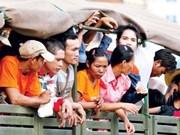Tailandia arresta a más de mil trabajadores inmigrantes ilegales