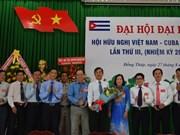 Asociación de Amistad Vietnam-Cuba contribuye a fomentar las relaciones bilaterales