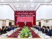 Dirigentes de Laos valoran cooperación judicial con Vietnam