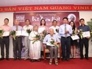 """Entregan premios del concurso  """"Por el amor a Hanoi"""""""