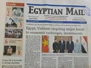Presidente egipcio reitera disposición de desarrollar nexos con Vietnam, según periódico Ahram