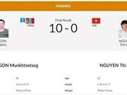 Vietnam aumenta cosecha de medallas en juegos continentales