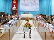 Provincias de Vietnam y Camboya trabajan para consolidar la amistad bilateral