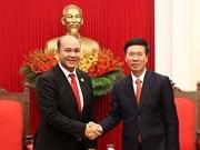 Federaciones juveniles de Vietnam y Camboya profundizan cooperación