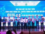 Destacan desarrollo de gobierno electrónico en seminario sobre las TIC en Vietnam