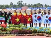 Delegación vietnamita cumple su meta en juegos continentales con cuatro medallas de oro
