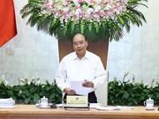 Situación socioeconómica de Vietnam registra señales alentadoras en agosto, asegura Premier