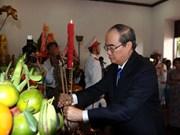 Rinden homenaje al Presidente Ho Chi Minh en ocasión del Día Nacional