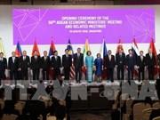 ASEAN se esfuerza por promover su Comunidad Económica
