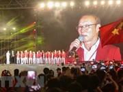 Realizan en Hanoi acto para honrar logros de la delegación deportiva vietnamita en ASIAD 2018