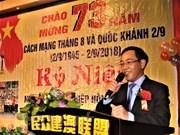 Vietnamitas residentes en ultramar celebran el 73 aniversario del Día Nacional