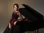 Pianista australiana-vietnamita actuará en ocasión de nexos diplomáticos entre ambos países